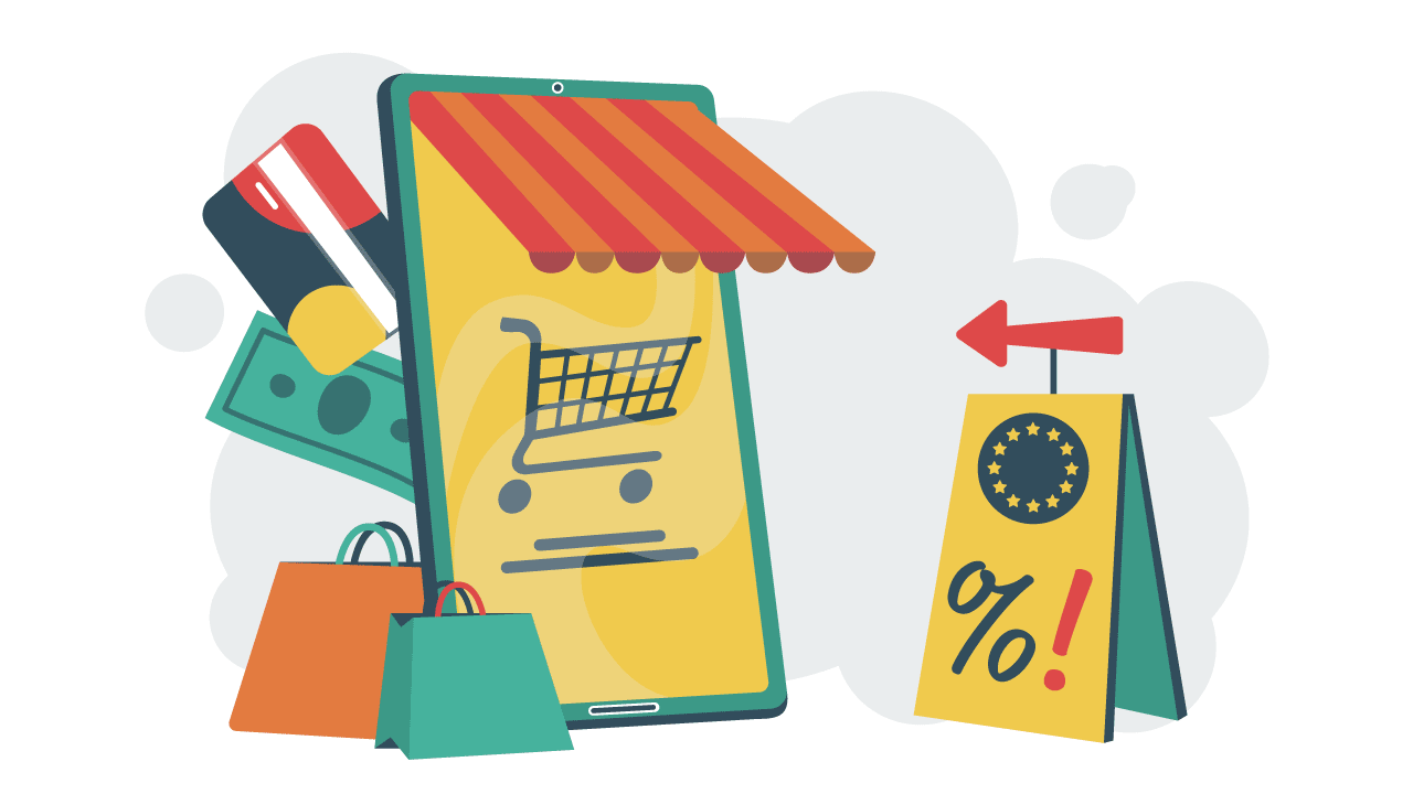 Illustration of EU VAT changes 2021 for e-commerce