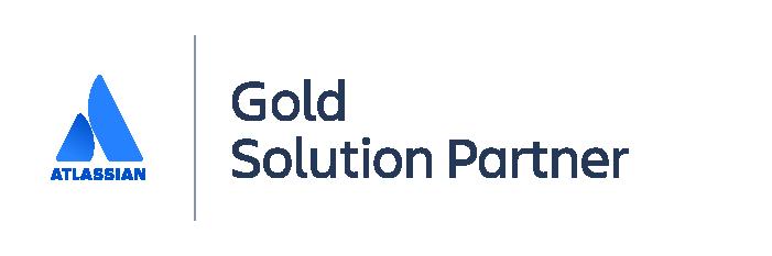 Logo Atlassian Gold Solution Partner
