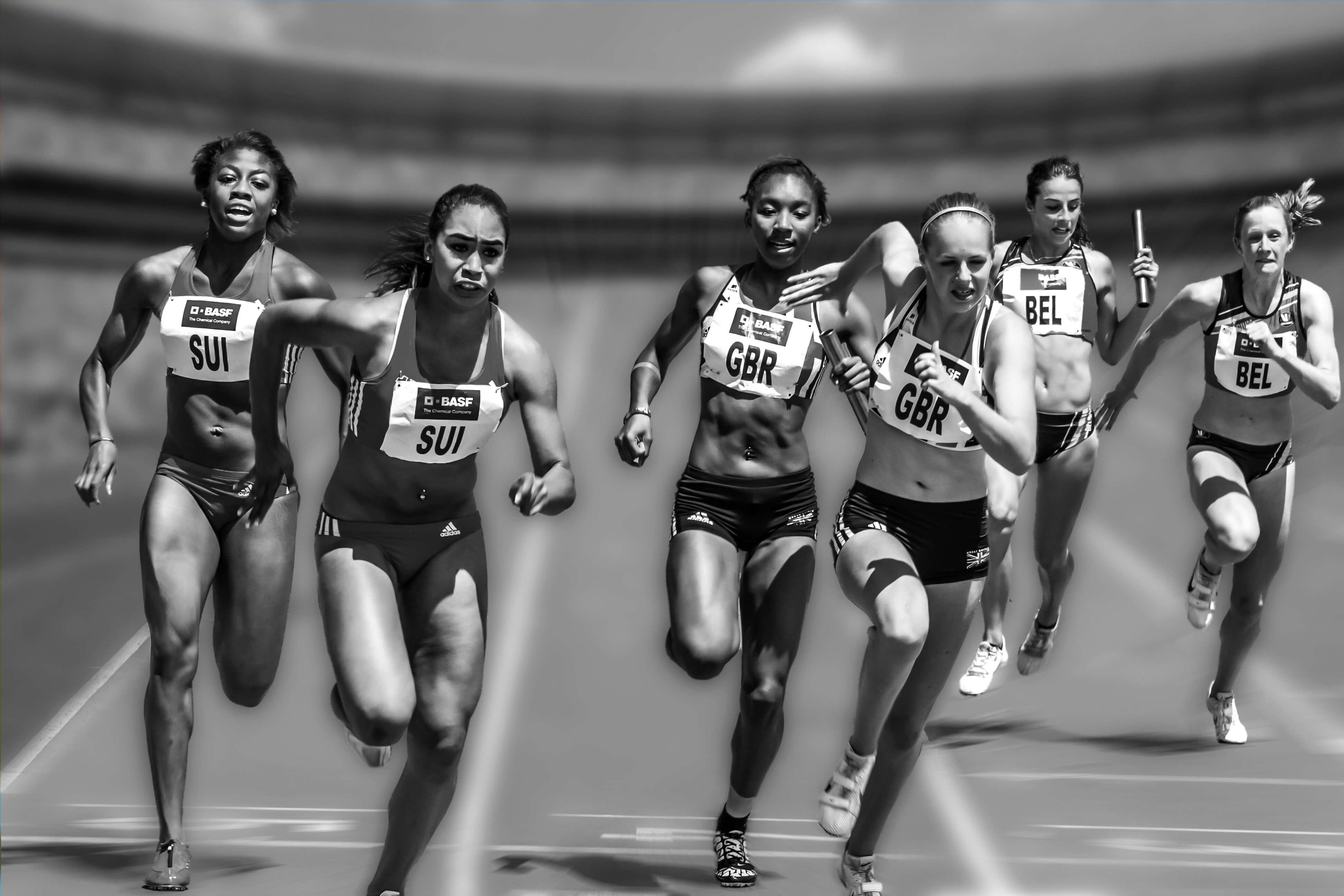 Sprinterinnen verbildlichen die agile Weiterentwicklung einer Organisation