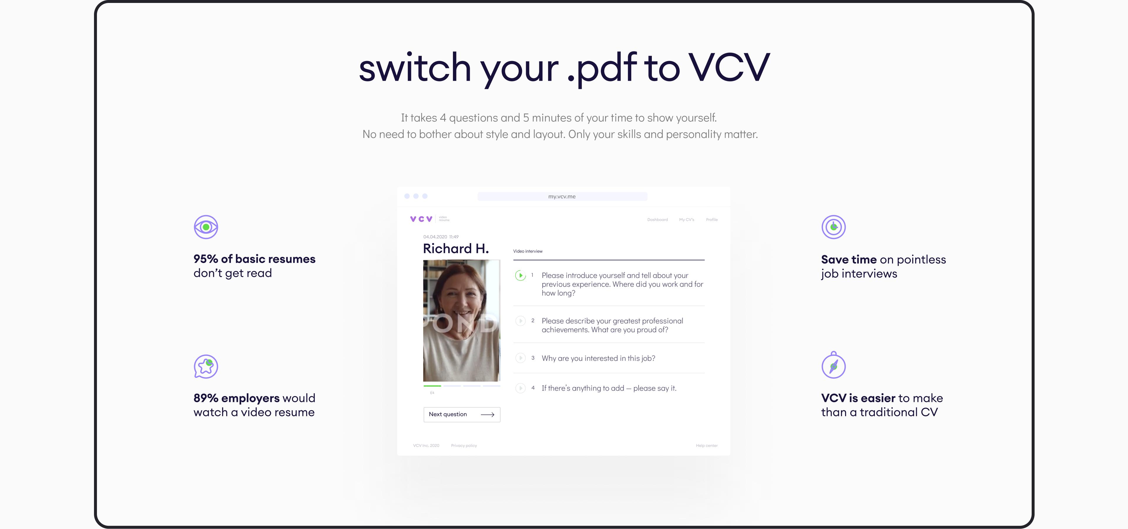 VCV website by Embacy