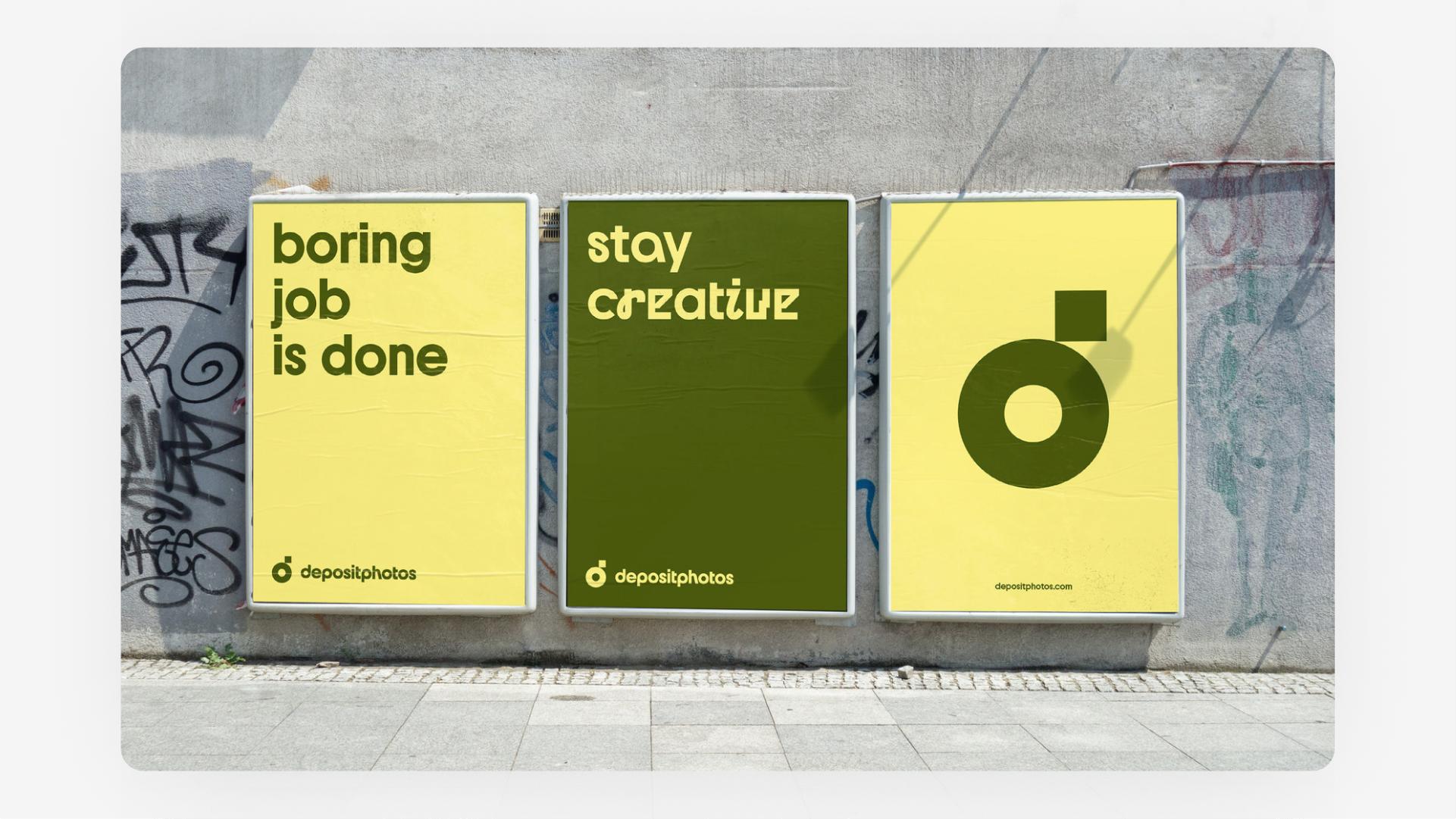 Depositphotos branding referencing Bauhaus