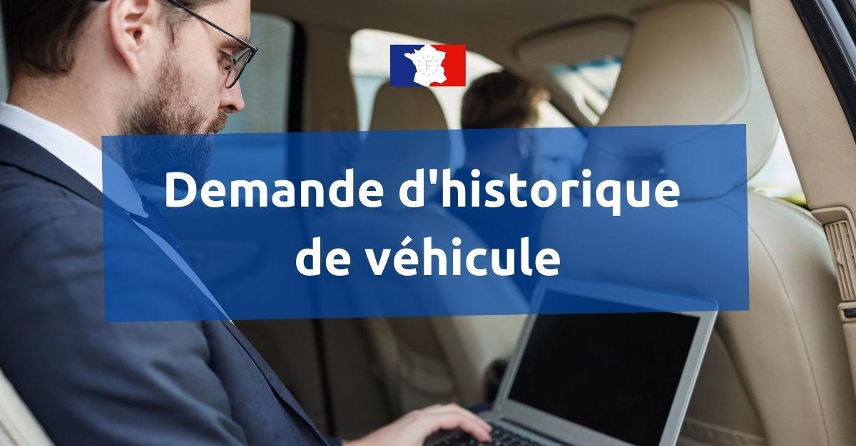 historique véhicule