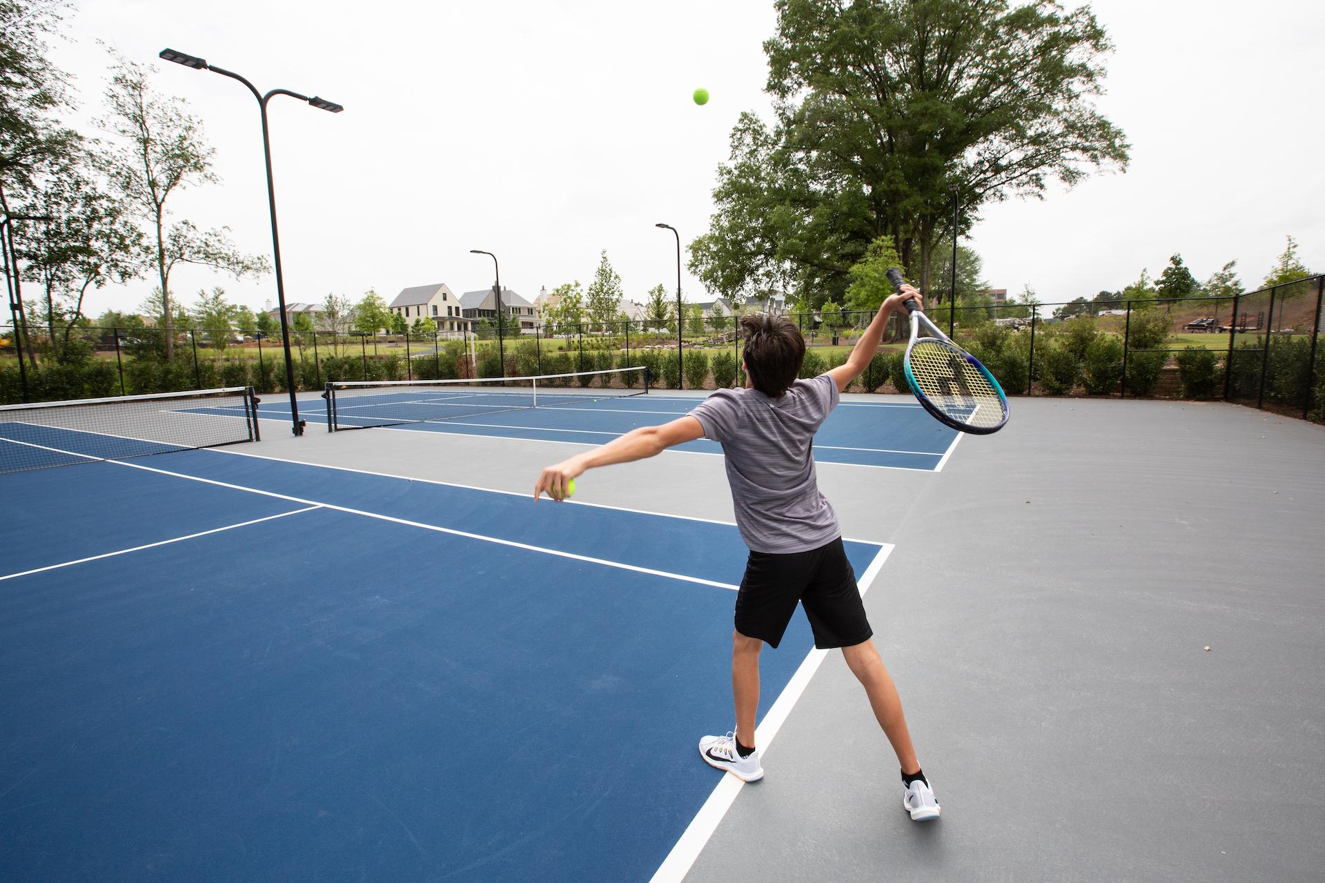 Trilith Tennis Court