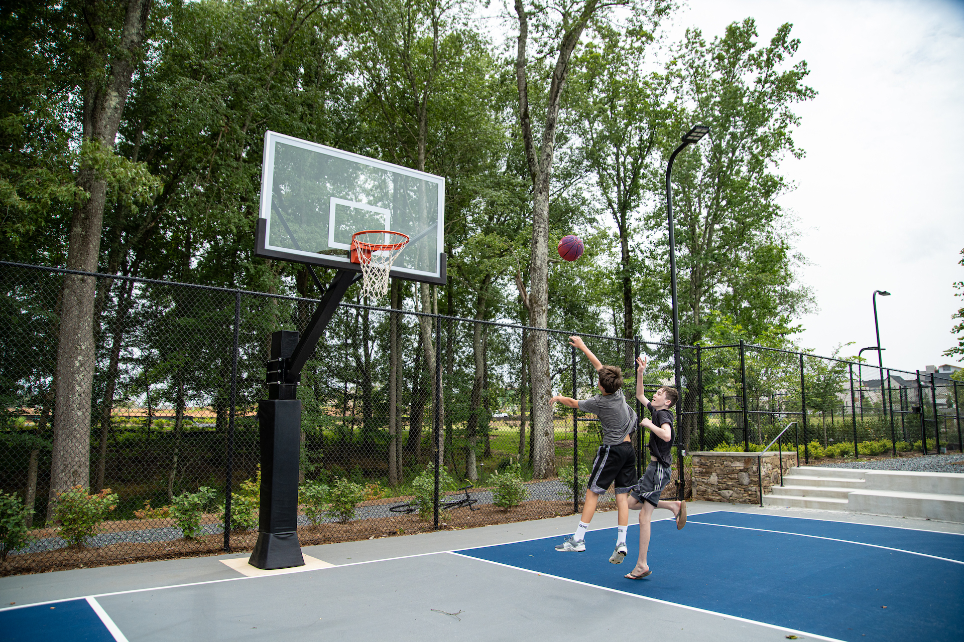 Trilith Basketball Court