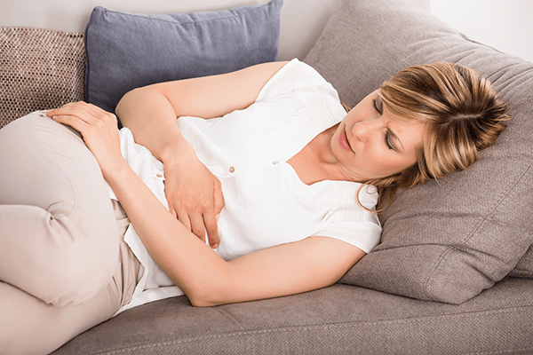 Stomach cramps are a side effect of a failed bariatric surgery