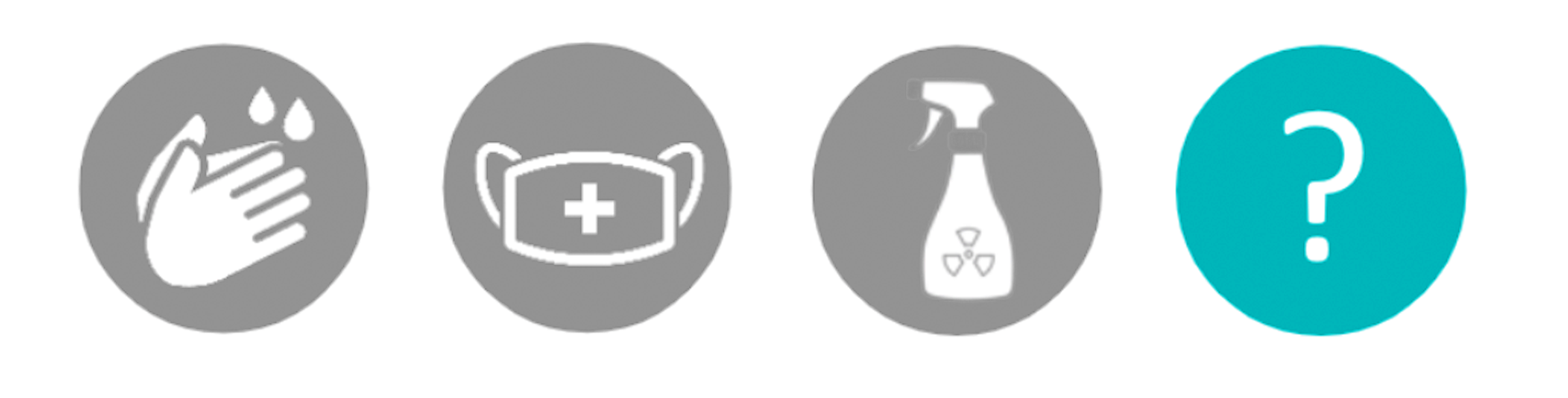 Icons relating to the products air cleaning capabilities