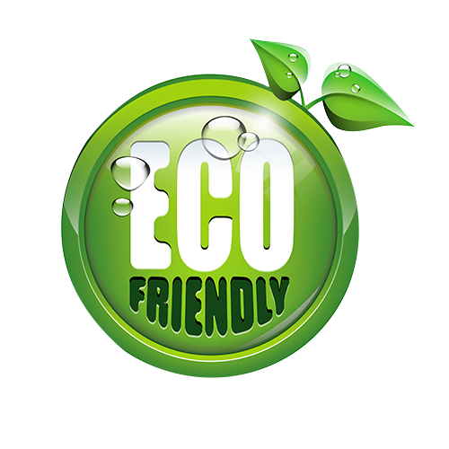 cute eco logo in the shape of an apple