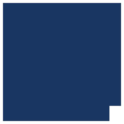 Download logo in dark blue