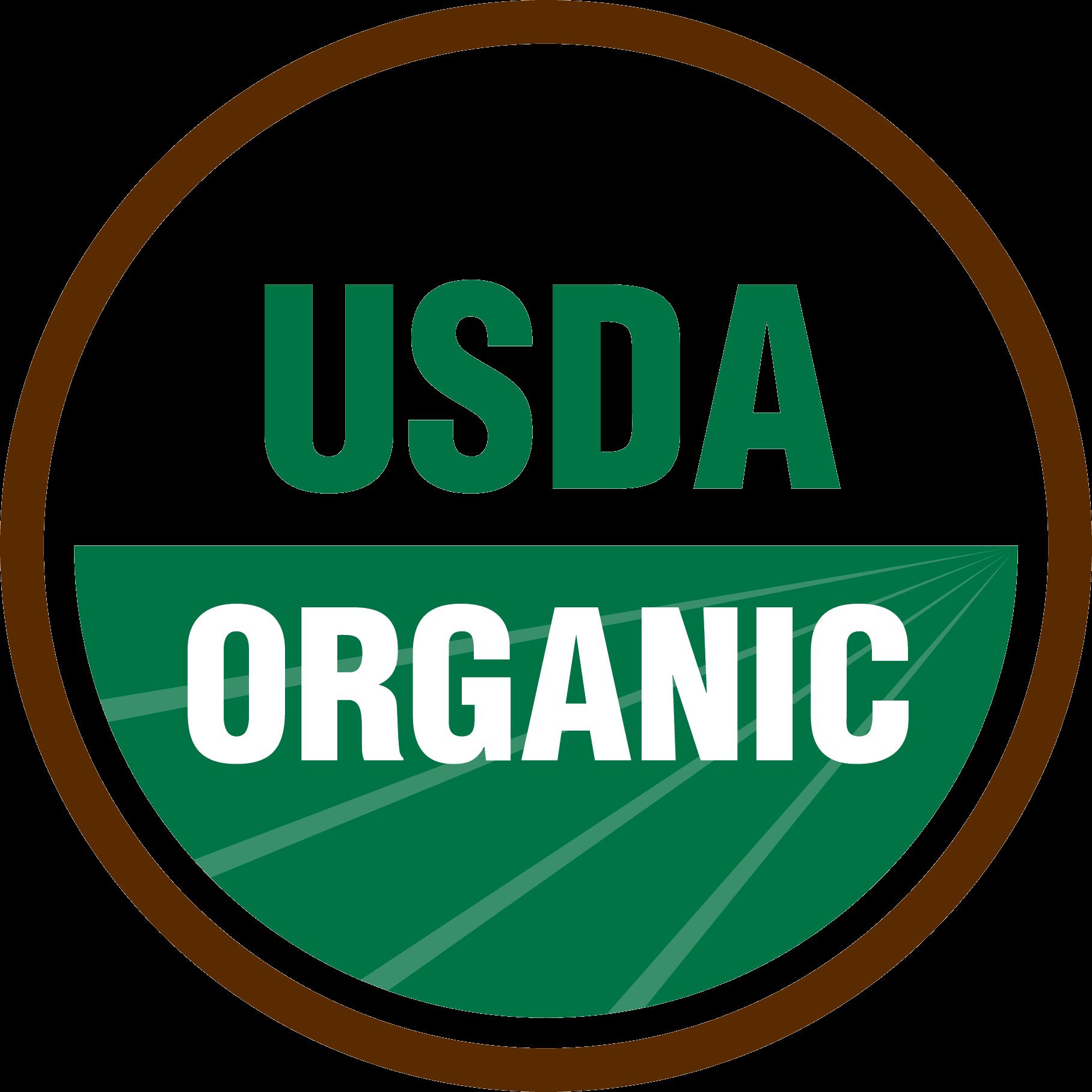 USDA Organic  Certification logo image