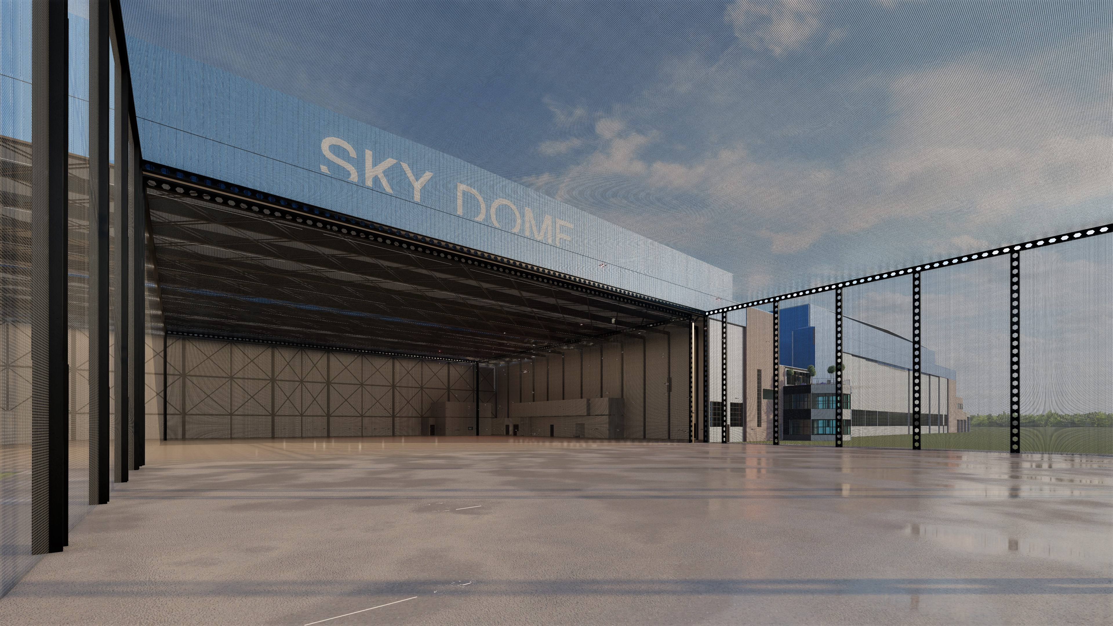 Sky Dome Artist Rendering