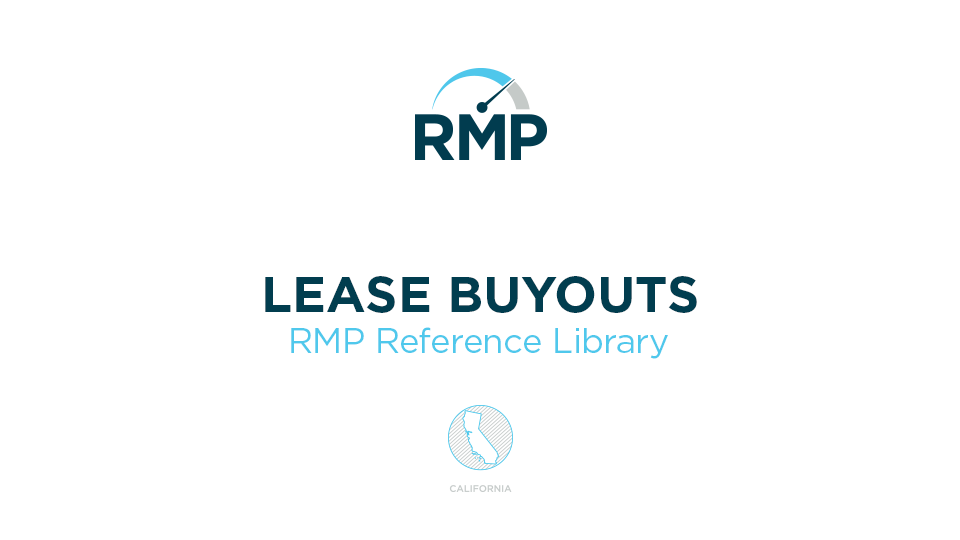California Lease Buyouts