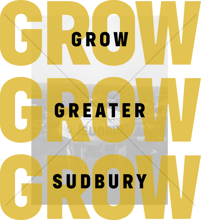 Kingsway  Entertainment  District Movie Studio Arena  Hotels Motorsports Greater Sudbury Sudbury  Wolves  Sudbury Five Sports Conference Grow Greater