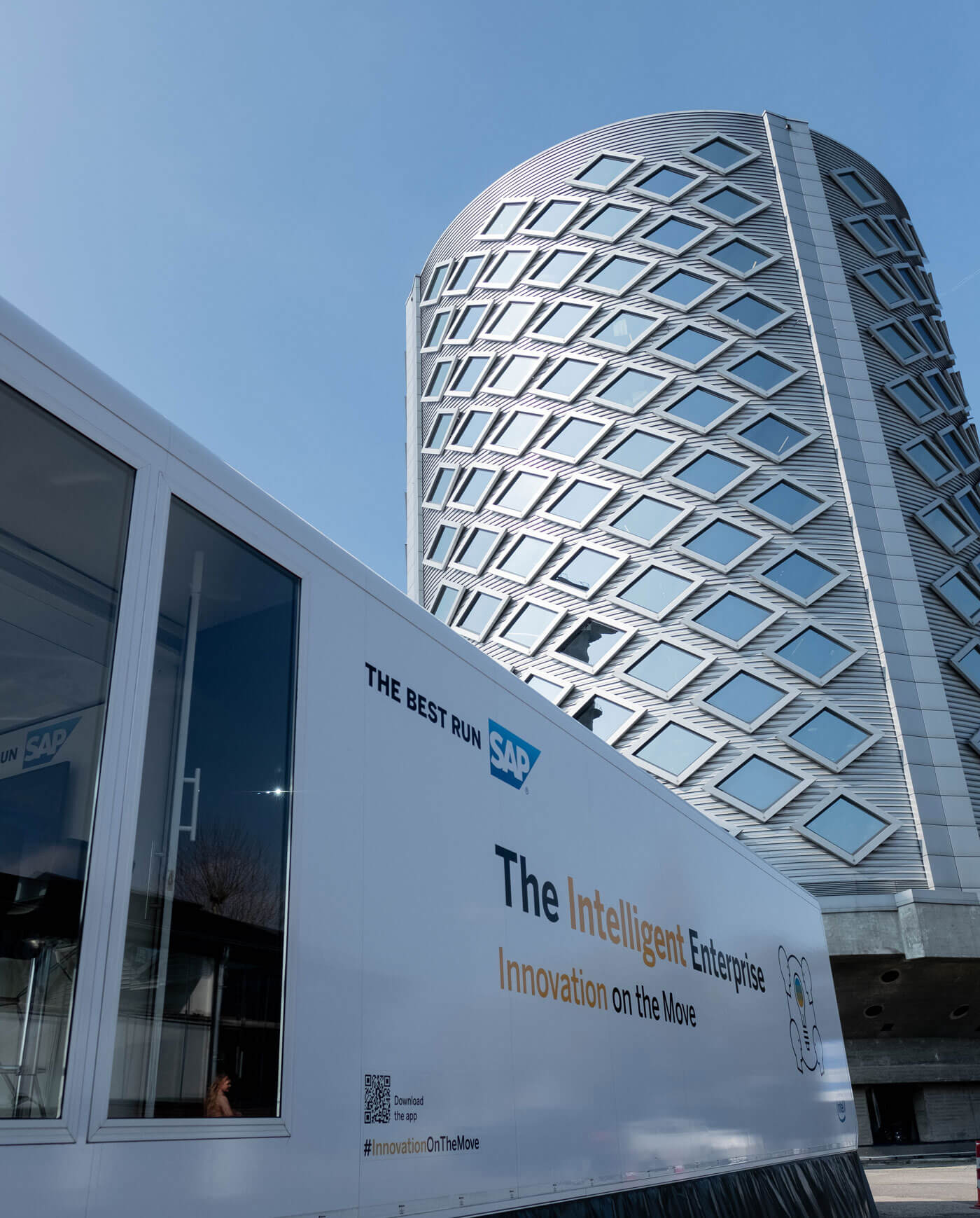 SAP Truck - Immersive experience on the move