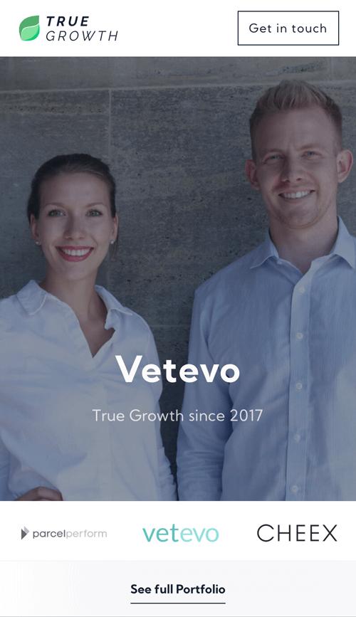 True Growth Website