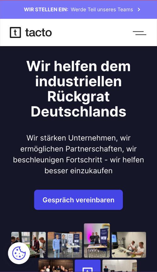 Tacto Website