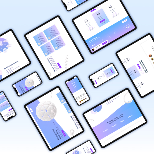 Abstract White Webflow Cloneable