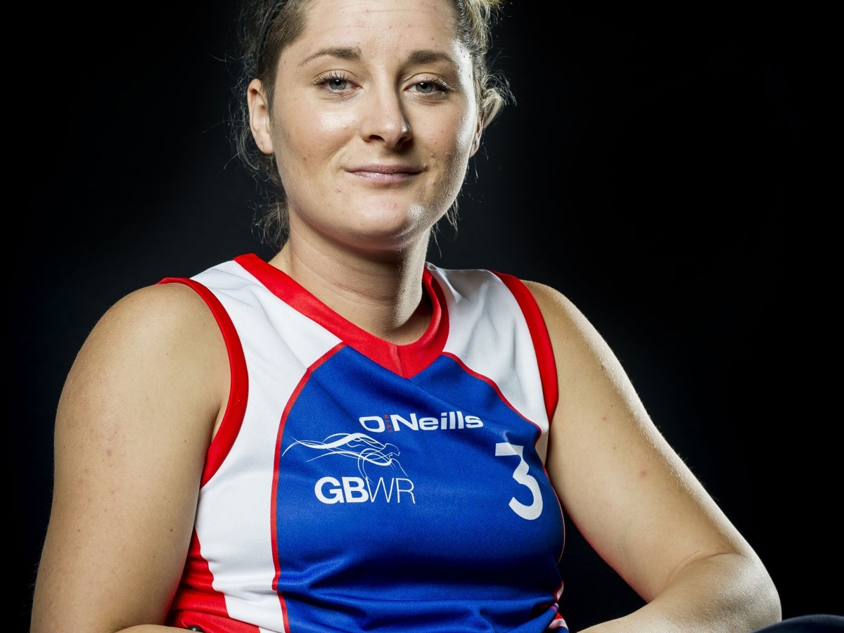image of kylie in her GB kit