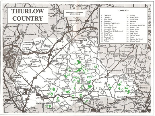 Thurlow Hunt Country