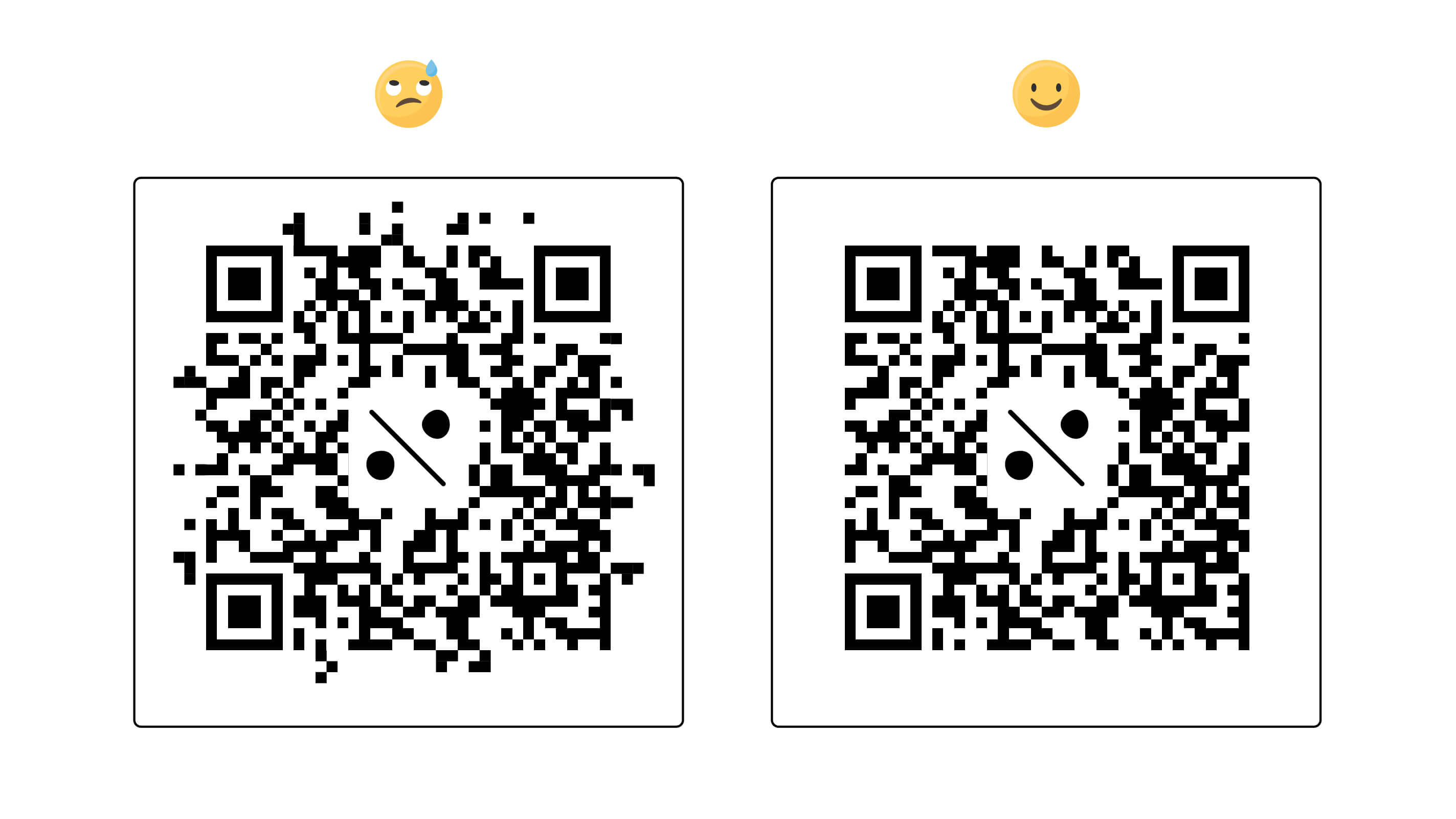 qr code quiet zone example