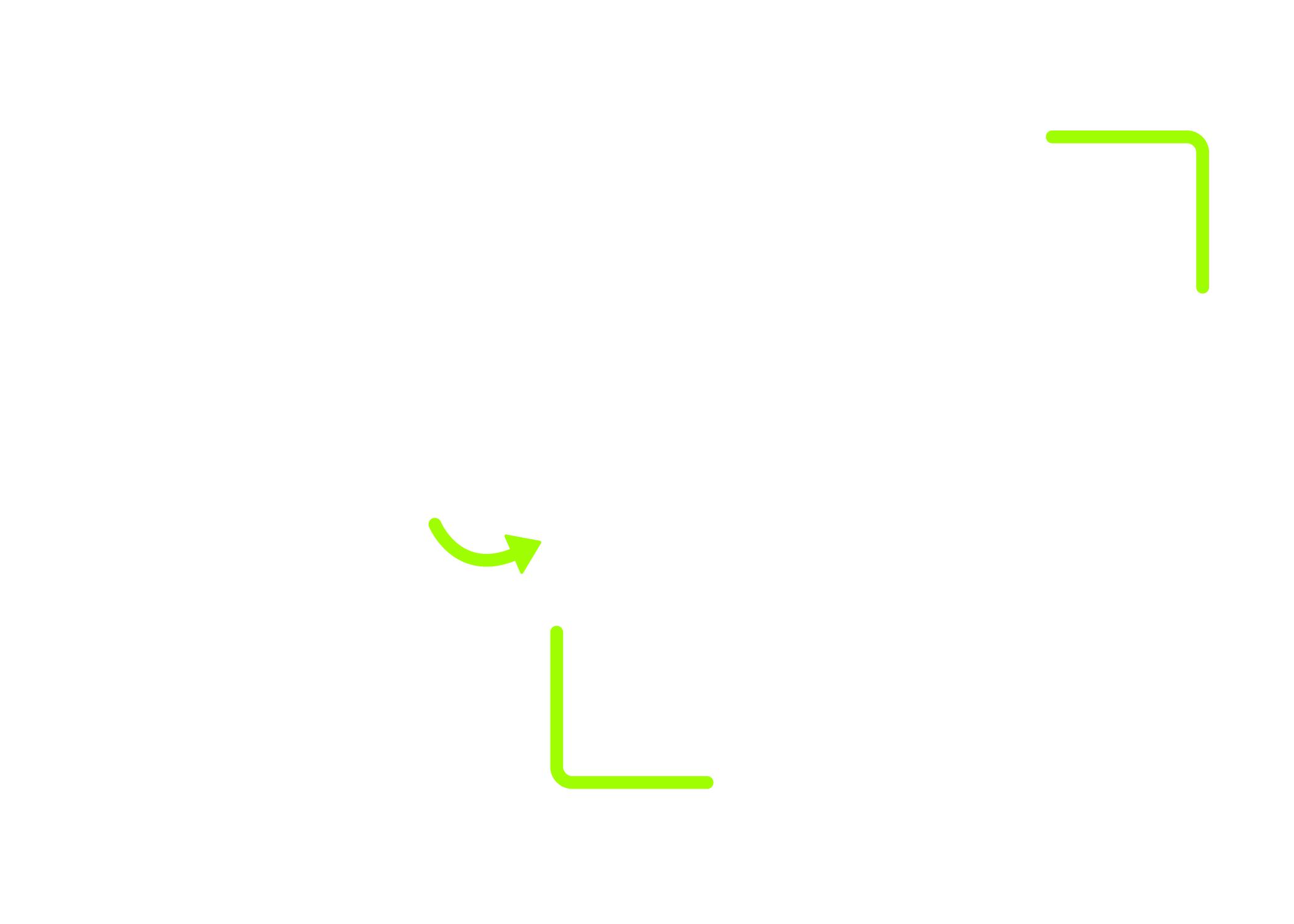 blank horizontal QR code template