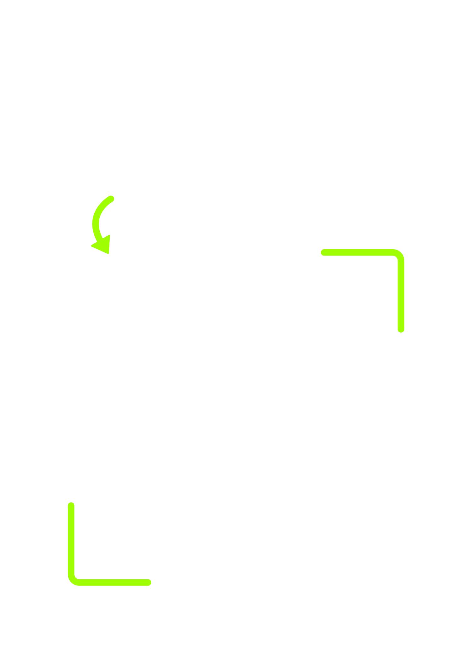 blank vertical qr code template