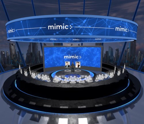 mimic stage for virtual events