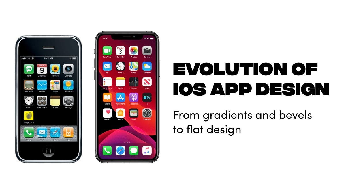Evolution of iOS app design