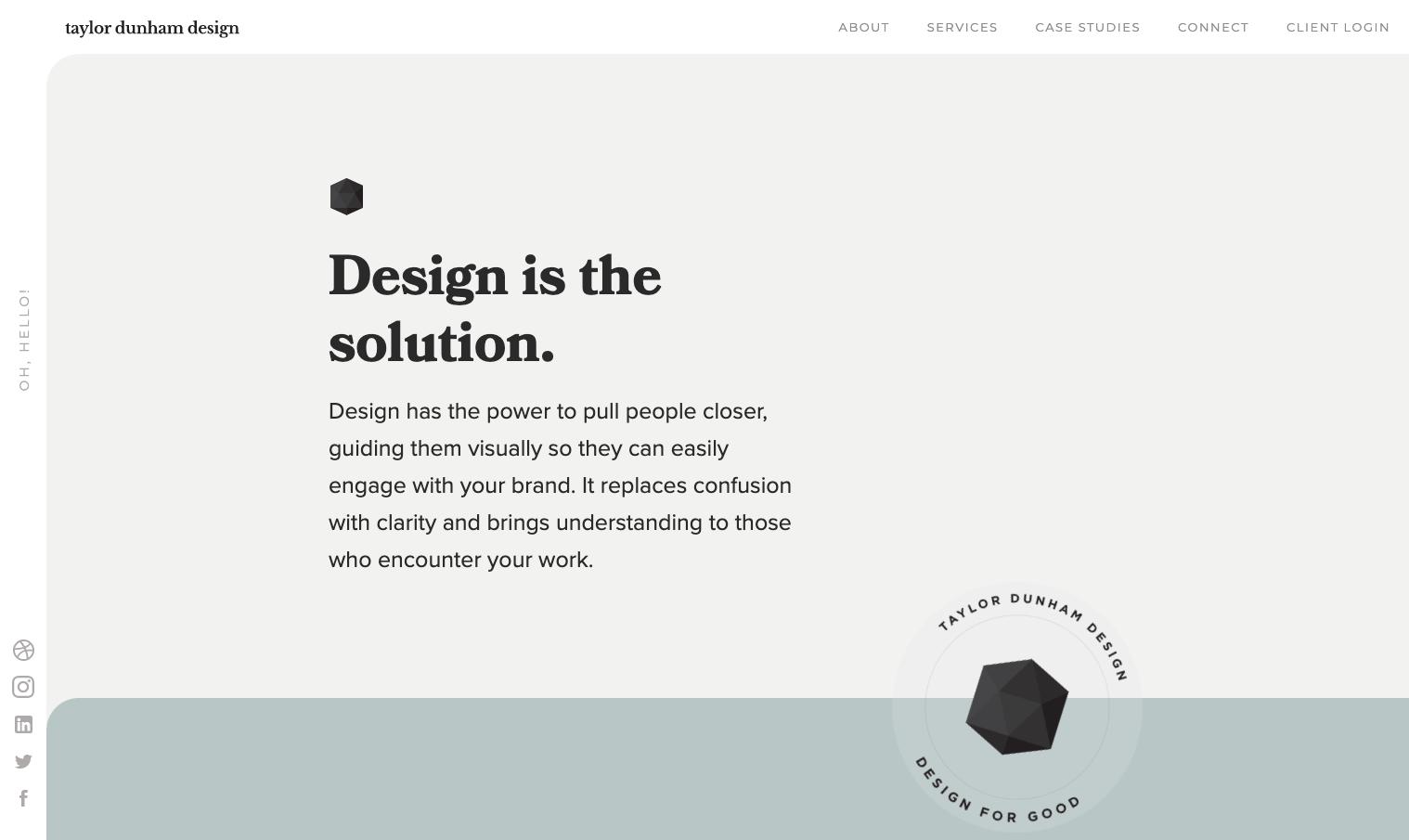 Taylor Dunham's portfolio website