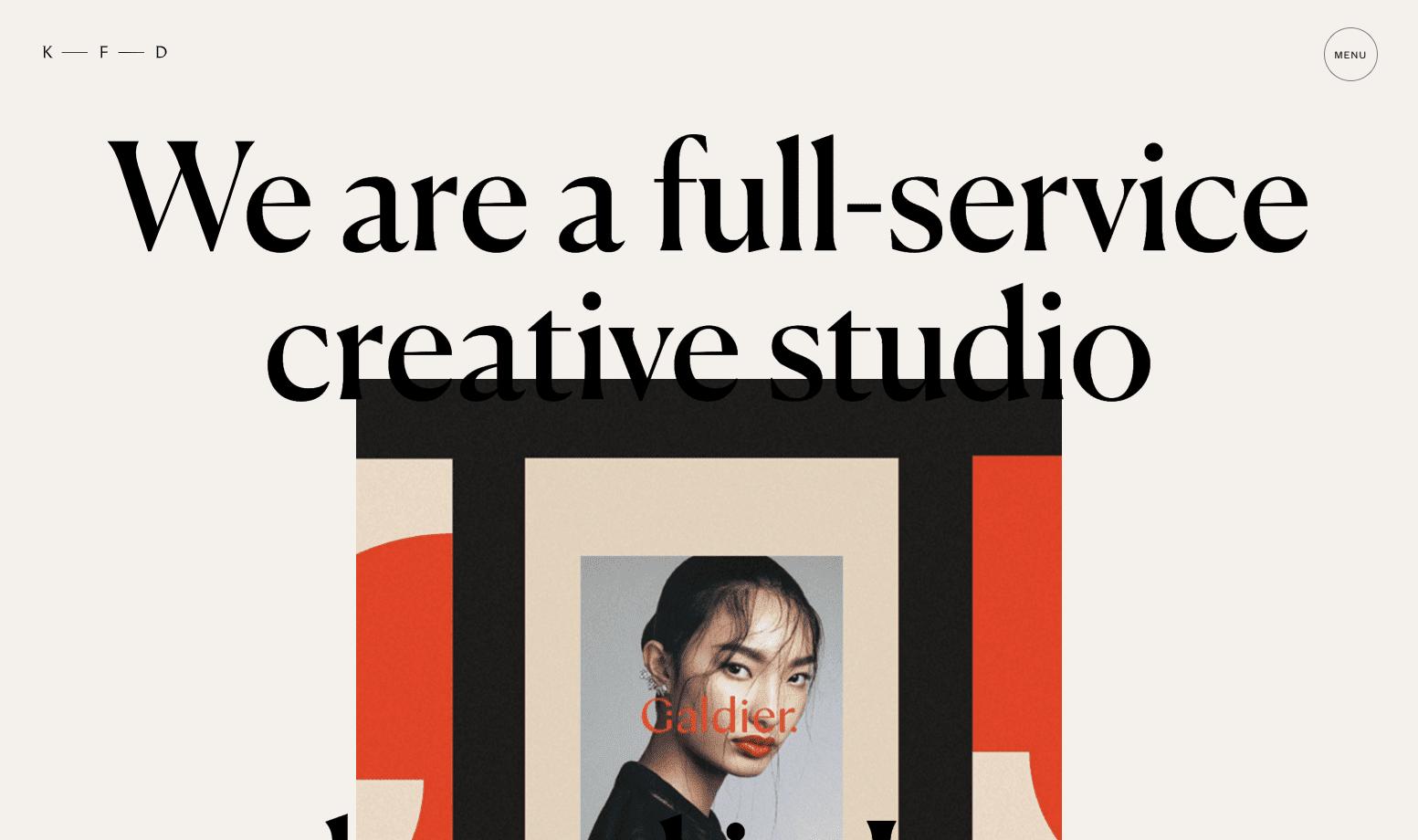Kati Forner's portfolio website