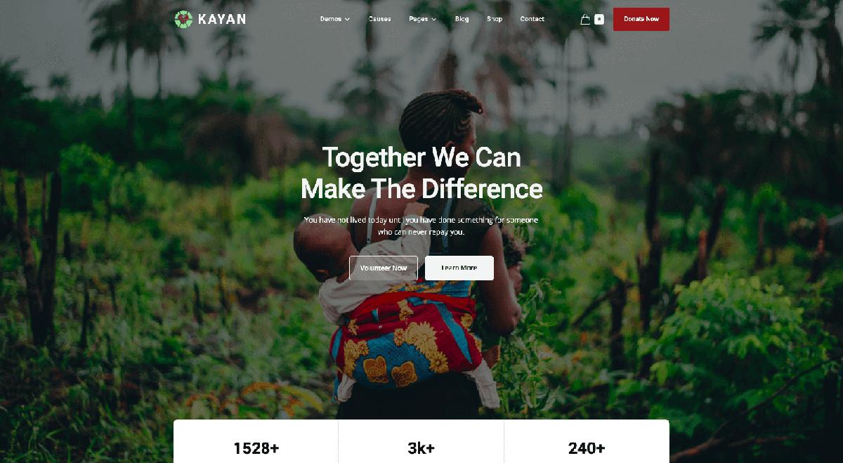 Kayan Webflow template