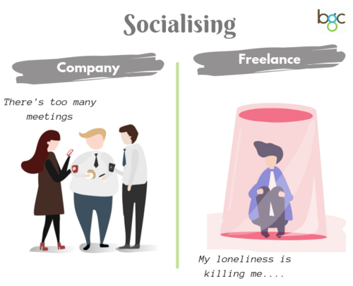 """There's too many meetings"" vs the lonely life of a freelancer"