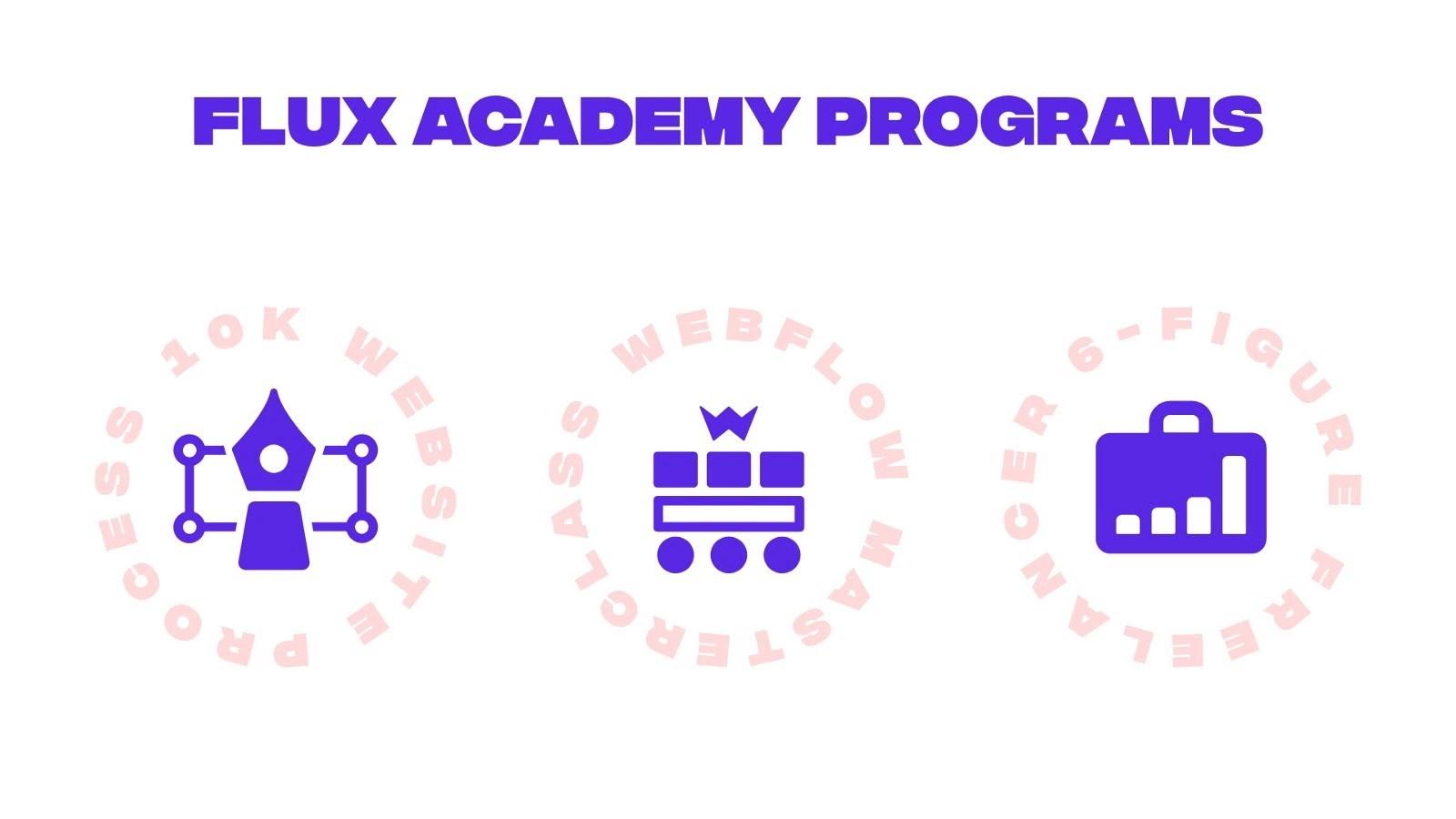 Flux Academy programs