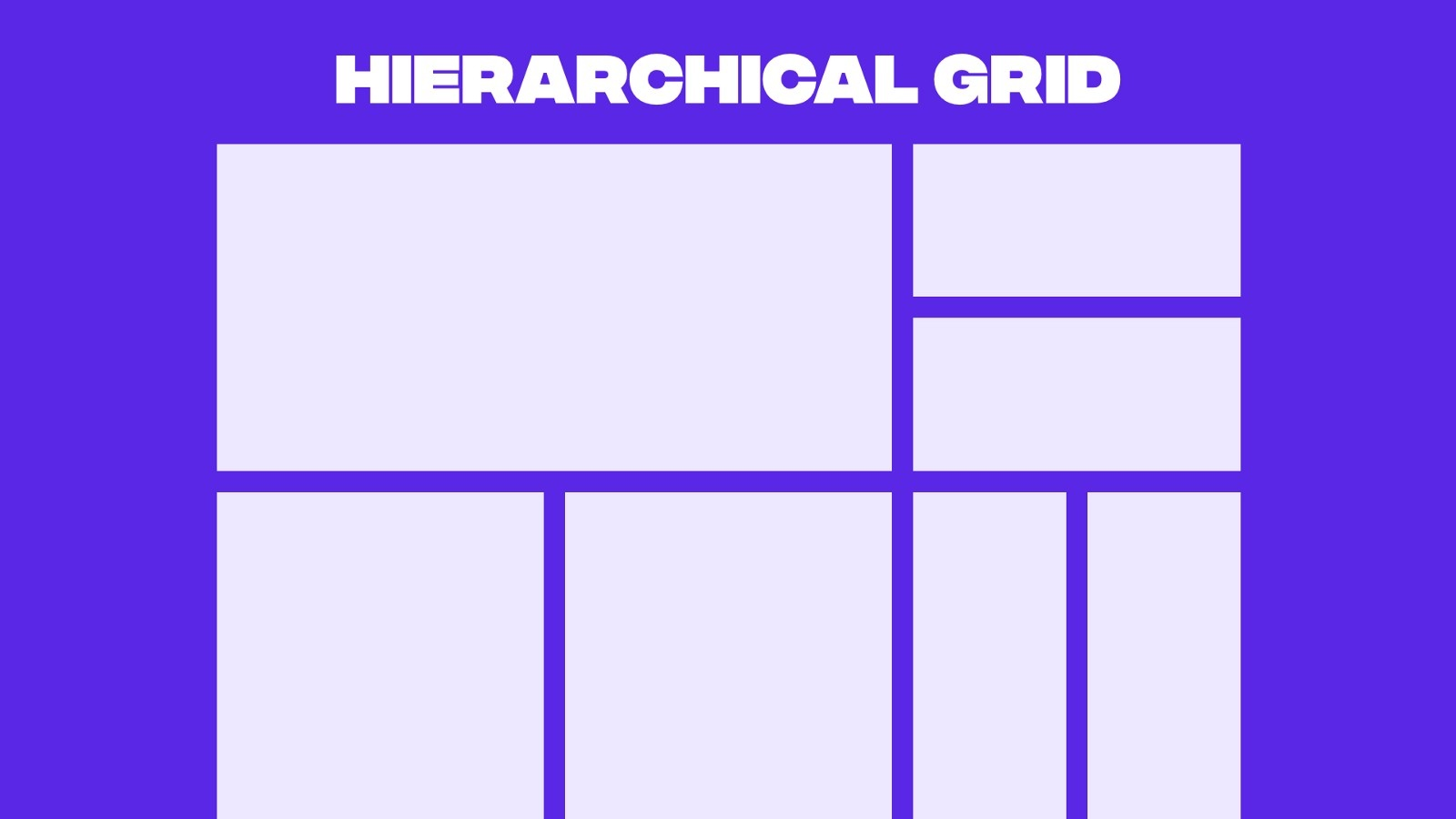 Example of a hierarchical grid