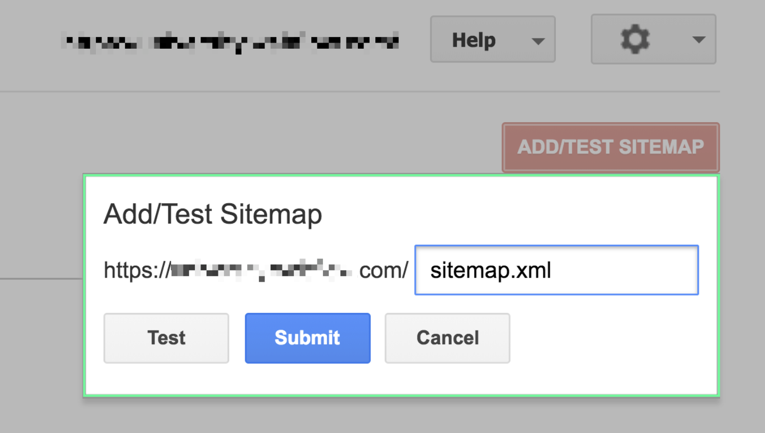 How to add your sitemap using the Google Search Console