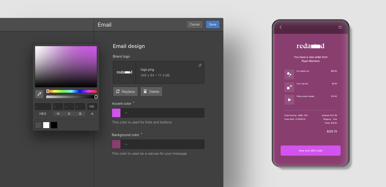 Customize your transactional emails with Webflow