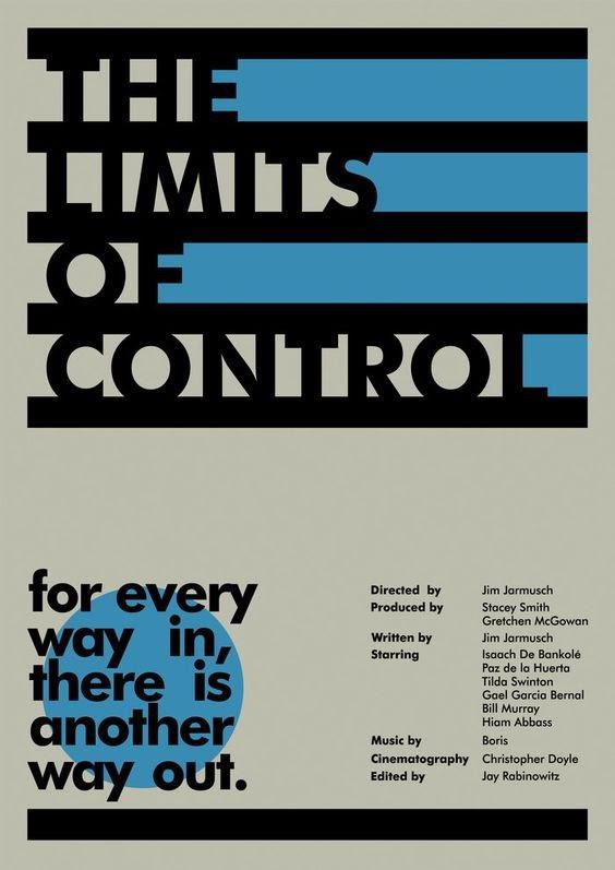 Poster design using the geometric typeface Futura