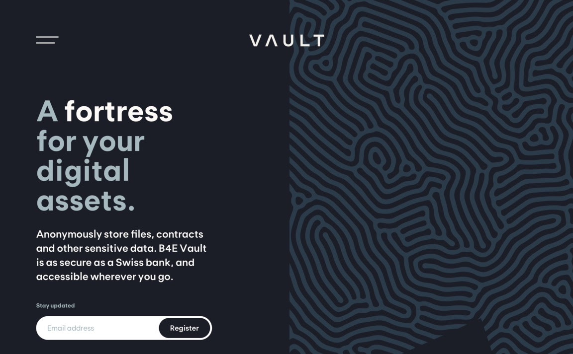 Example of a website that uses appropriate contrast. Source: Vault