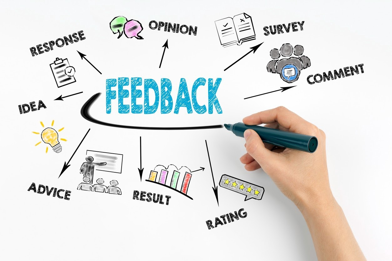 Take time to analyze feedback, is it useful or simply opinion?