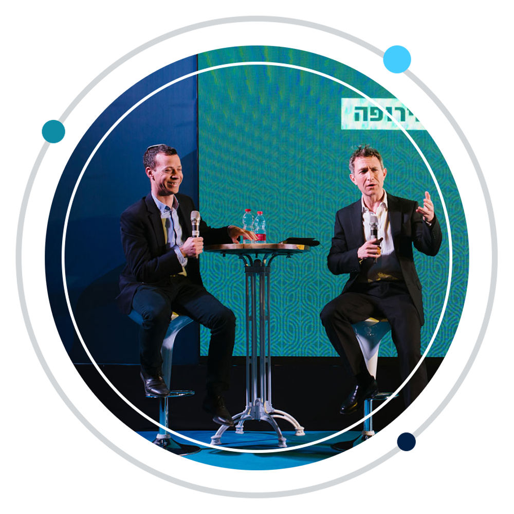 Two speakers from the Israeli Conservative Conference hosted by the Tikvah Fund
