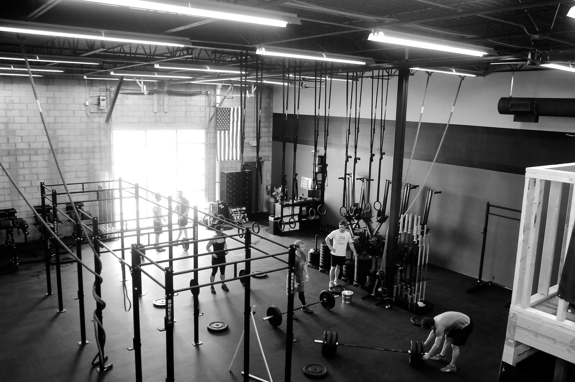 an image of the our crossfit gym interior