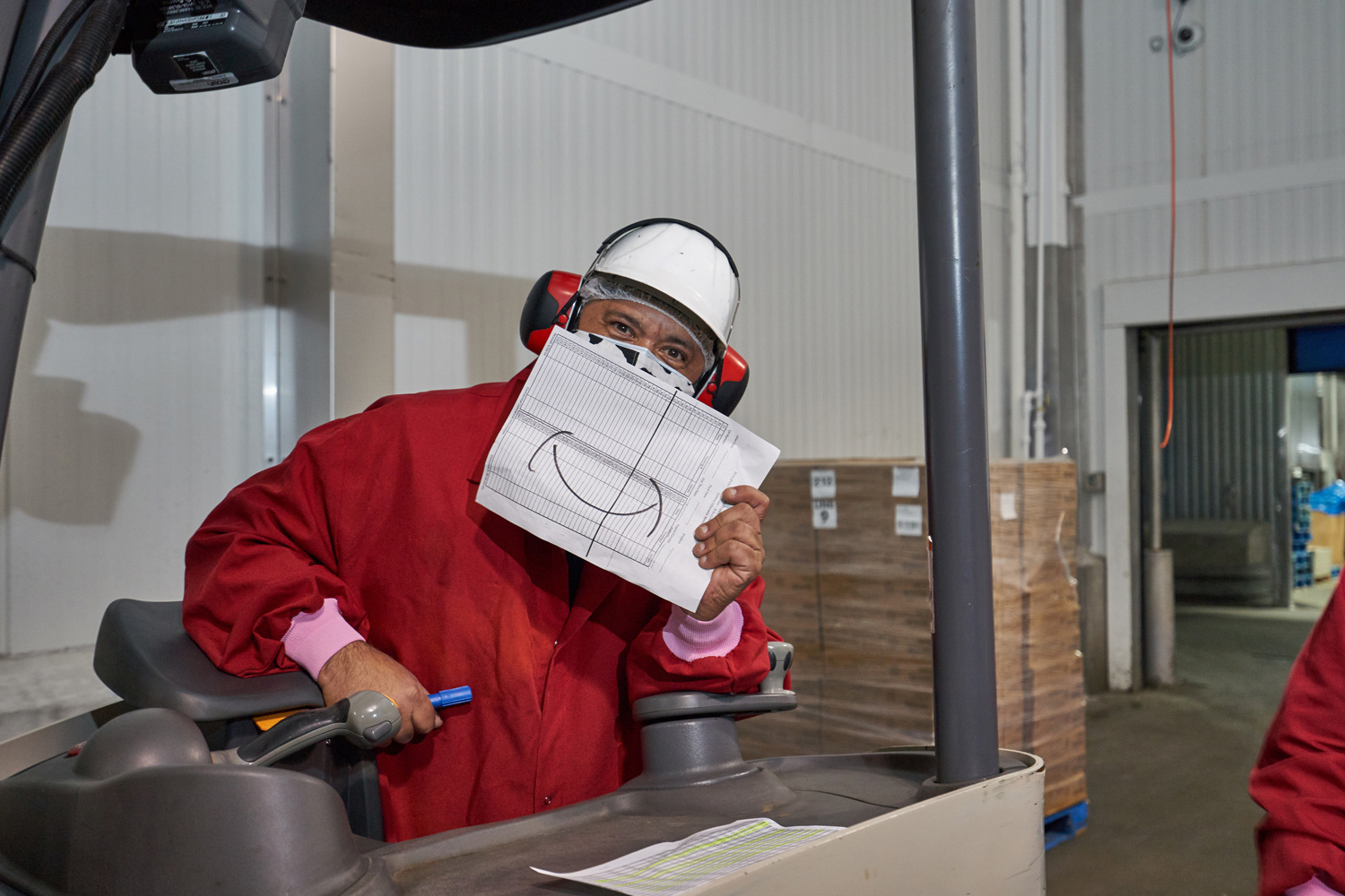Culture Hero - Happy forklift driver