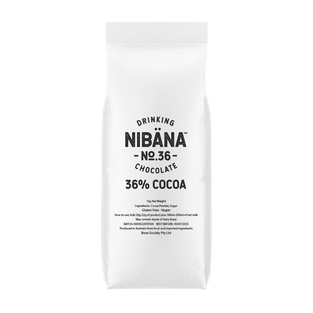 Nibana™ Drinking Chocolate 36% 1KG