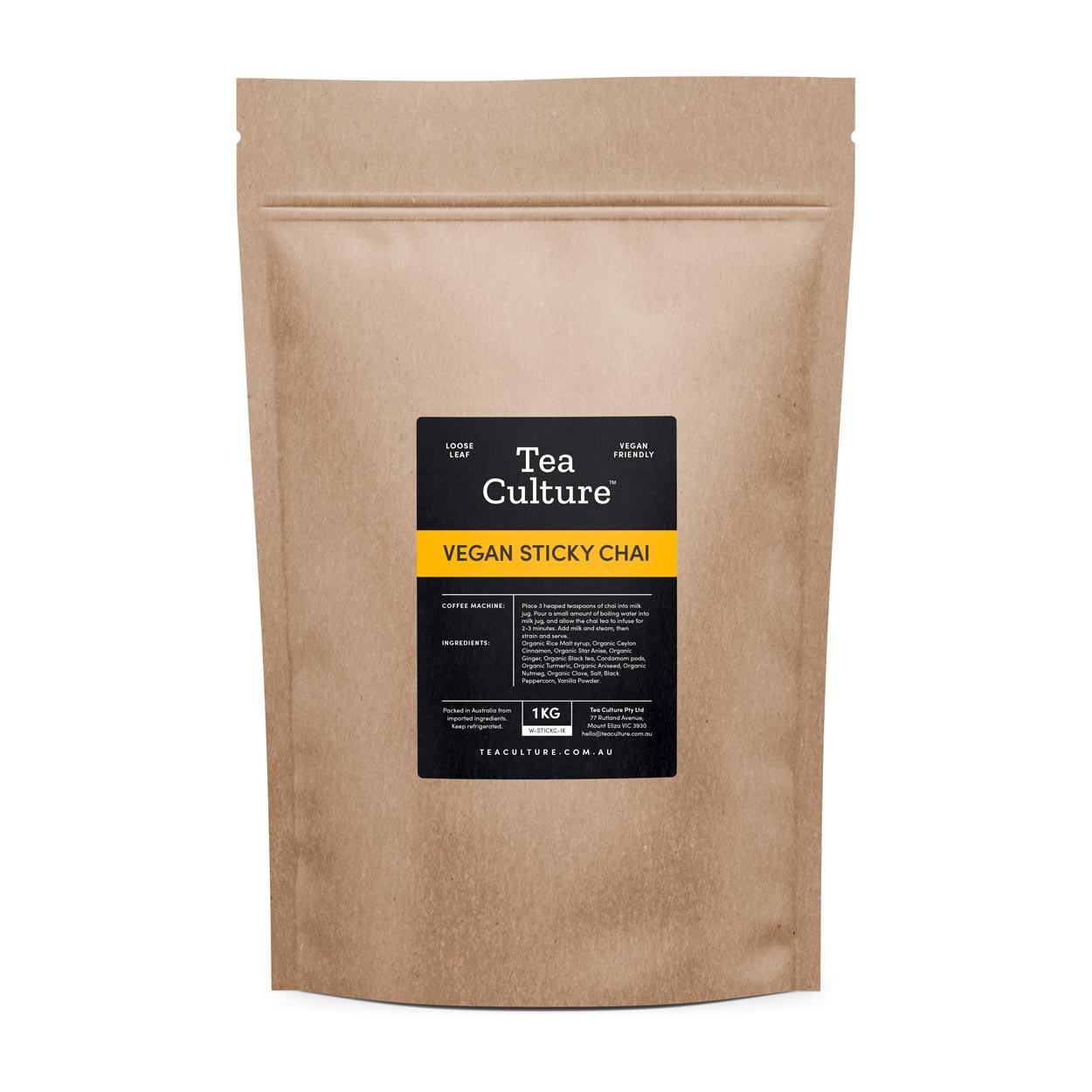 Tea Culture™ Vegan Sticky Chai 1KG