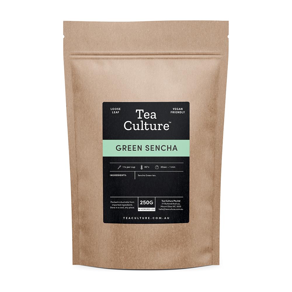 Tea Culture™ 250g Green Sencha Loose Leaf