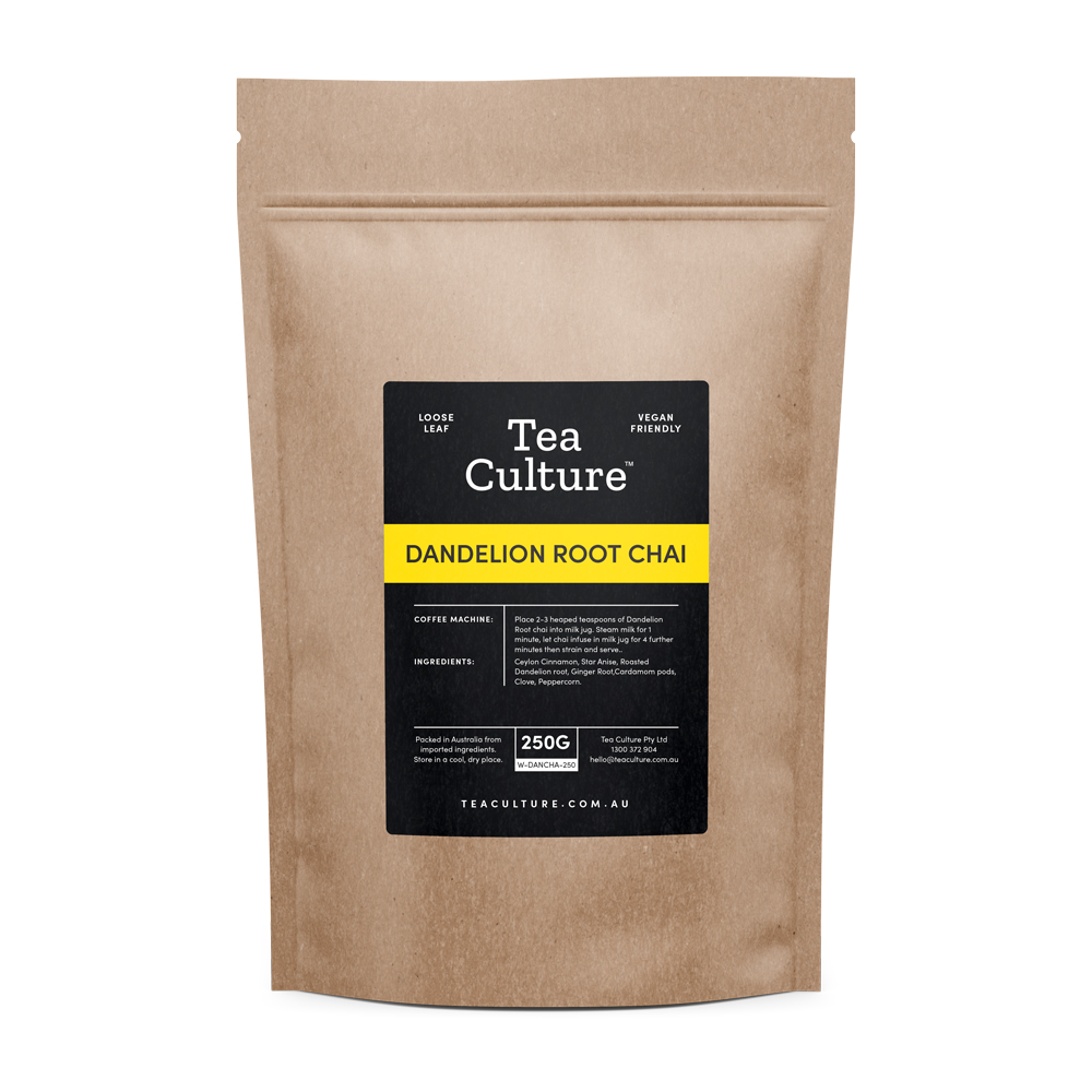 Tea Culture™ 250g Dandelion Root Chai Loose Leaf