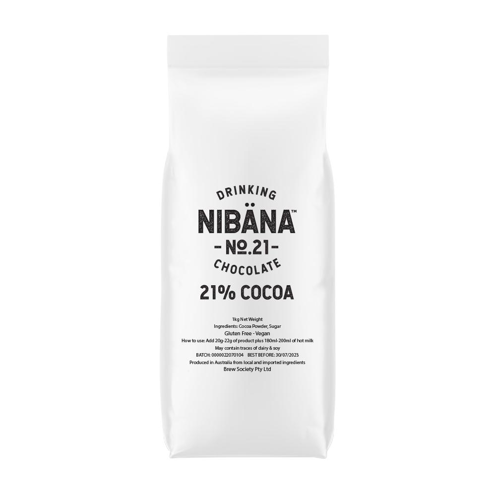 Nibana™ Drinking Chocolate 21% 1KG