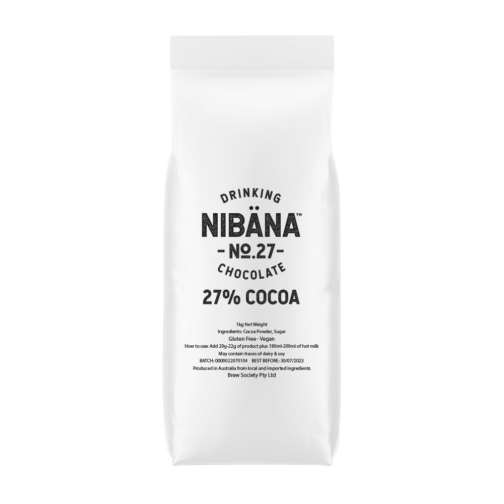 Nibana™ Drinking Chocolate 27% 1KG