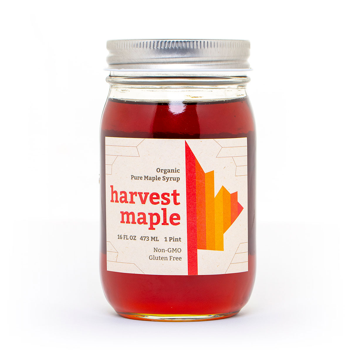 Harvest Maple Organic Maple Syrup - Pint