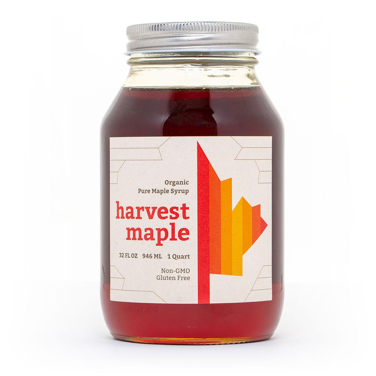 Harvest Maple Organic Maple Syrup - Quart