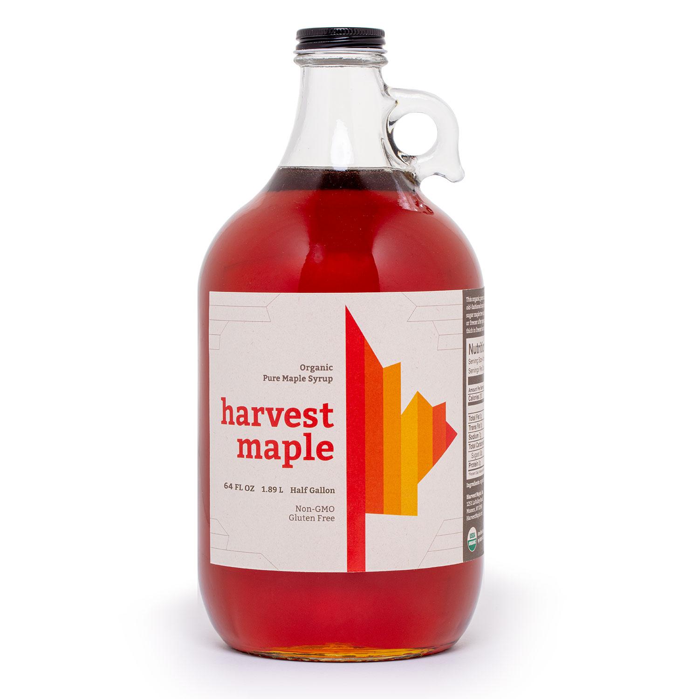 Harvest Maple Organic Maple Syrup - Half Gallon